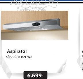 Aspirator KREA GFA IX/F/50