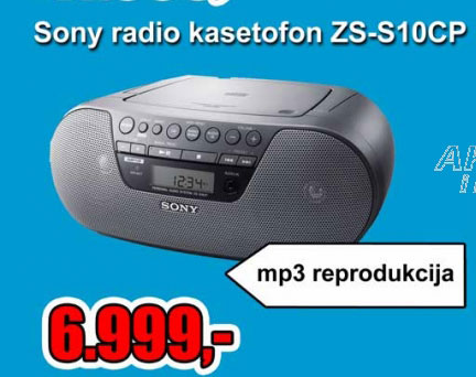 Radio kasetofon ZS-S10CP