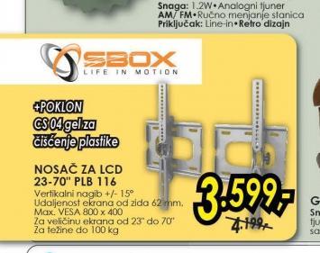 "Nosač za LCD 23-70"" PLB 116"