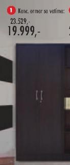 Kancelarijski ormar sa vratima