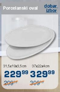Porcelanski oval