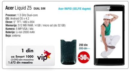Mobilni telefon Liquid Z5