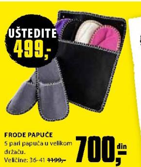 Papuče Frode