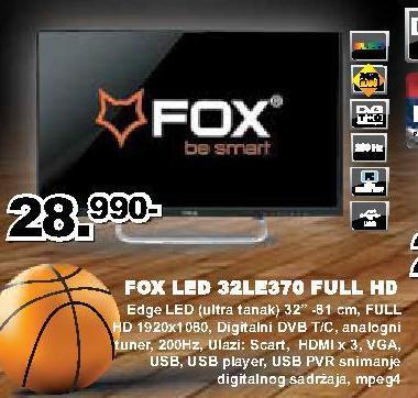 "Televizor LED 32"" 32LE370"