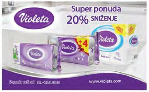 20% popusta na Violeta kolekciju