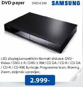 DVD player DVD-E350
