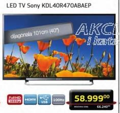 "Televizor LED 40"" KDL40R470ABAEP"