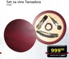 Set za vino Tamadora