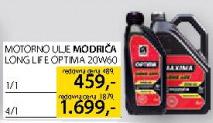 Motorno ulje Modriča Long Life Optima 20w60 4l