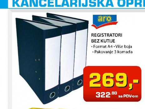 Registrator bez kutije