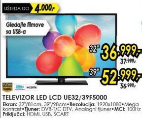 "Televizor LED 39"" Ue39f5000"