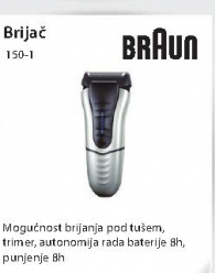 Brijač 150-1