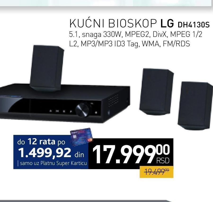 DVD sistem DH4130S