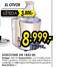 Sokovnik HR 1853 00