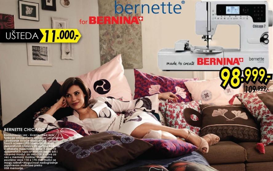 Šivaća mašina Bernette Chicago 7