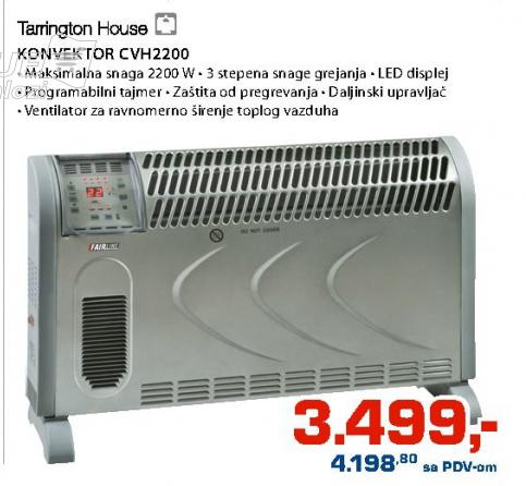 Konvektor CVH2200
