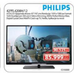 LED TV 42PFL4208H/12 Full HD