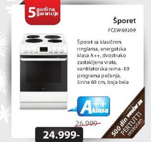 Šporet FCEW69209