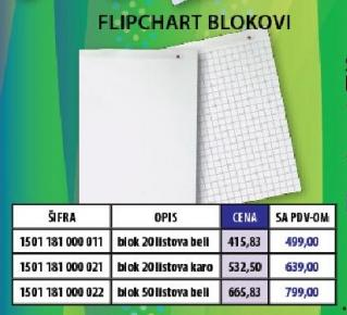 Flipchart Blok