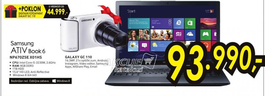 Laptop ATIV Book NP670Z5E-X01HS