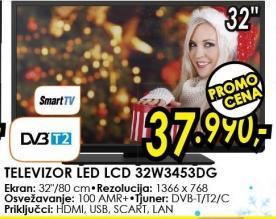 """Televizor LED 32"""" 32w3453dg"""