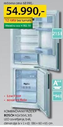 Frižider kombinovani KGV36VL305