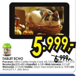 Tablet ECHO
