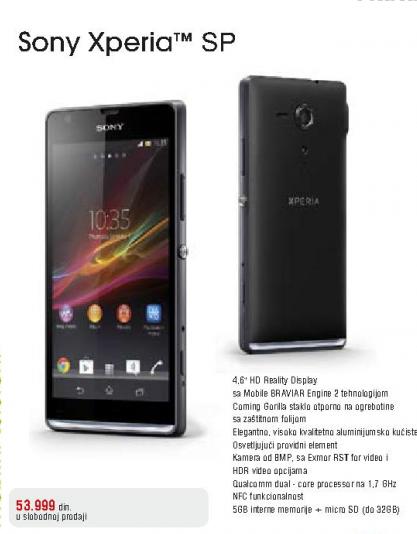 Mobilni Telefon Xperia SP