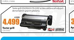 Toster grill CSS-5302