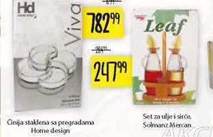 Set za ulje i sirće Solmanz Mercan