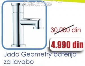 Baterija za lavabo Jado Geometry