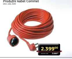 Produžni kabel Commel