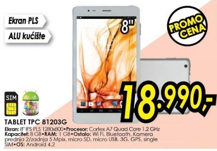 Tablet Tpc 81203g