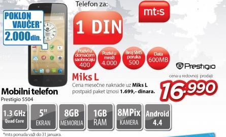 Mobilni telefon 5504