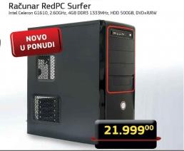 Desktop ralunar Redpc surfer