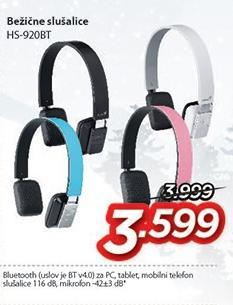 Slušalice Hs-920bt bežične