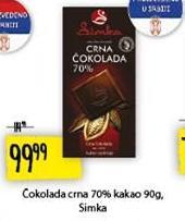 Čokolada crna