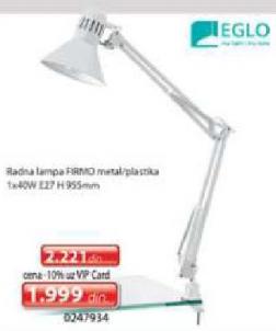 Radna lampa Firmo