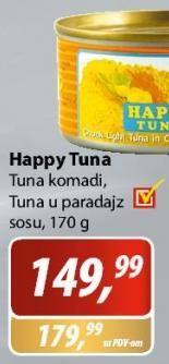 Tuna u paradajz sosu