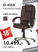 Kancelarijska fotelja D-9168