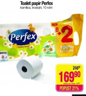 Toalet papir 3sl kamilica
