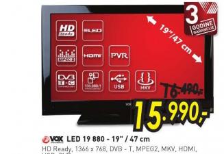 Televizor LED LCD 19 880