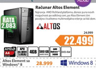 Desktop računar Altos Element