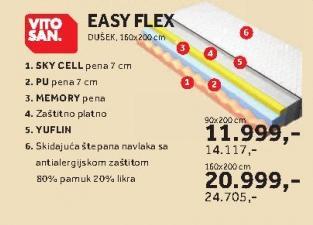 Dušek Easy Flex 160x200cm