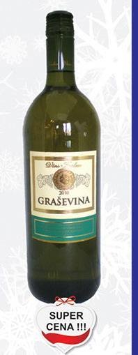 Belo vino Graševina super cena