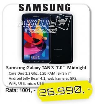Tablet Galaxy Tab3 7.0 Midnight