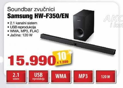 Zvučnici 2.1 Soundbar Hw-F350/En