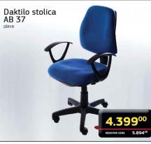 Daktilo stolica AB37