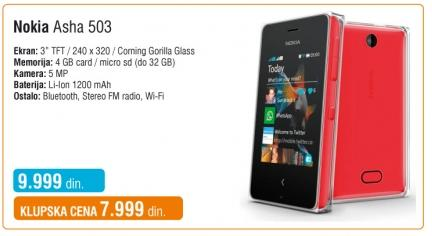 Mobilni telefon Asha 503