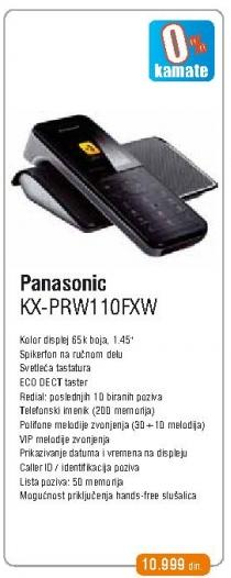 Bežični telefon Kx-Prw110fxw